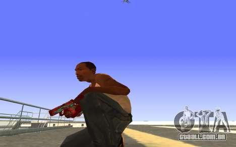 Glock-18 a água do CS:GO para GTA San Andreas segunda tela