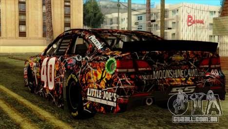 NASCAR Chevy SS 2013 para GTA San Andreas esquerda vista