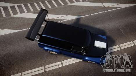 Slamvan Dragger para GTA 4 vista direita