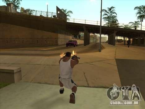 Russo submachine guns para GTA San Andreas quinto tela