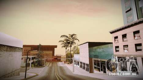 The not China ENB v2.1 Final para GTA San Andreas por diante tela