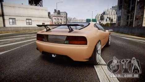 Grotti Turismo GT Carbon para GTA 4 traseira esquerda vista