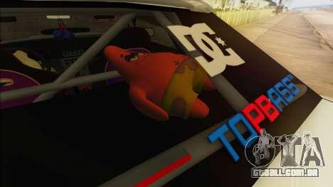 Elegy Undercover para as rodas de GTA San Andreas