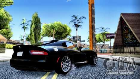 ENB Cal HD por meio do PC para GTA San Andreas segunda tela