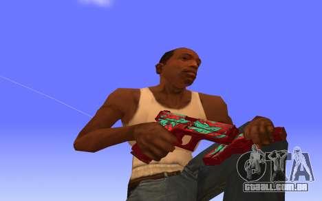 Glock-18 a água do CS:GO para GTA San Andreas