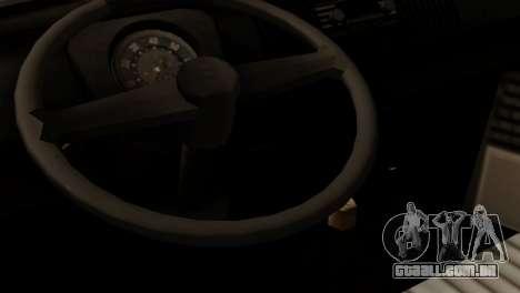 Volkswagen Type 2 para GTA San Andreas vista traseira