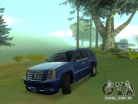 O comportamento real da máquina v3.0 para GTA San Andreas terceira tela