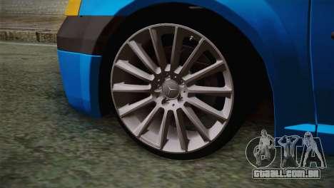 Dacia Logan 2006 para GTA San Andreas traseira esquerda vista