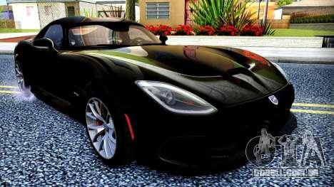 ENB Cal HD por meio do PC para GTA San Andreas