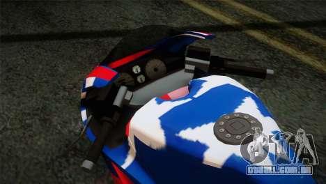 GTA 5 Bati American para GTA San Andreas vista direita