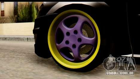 Dacia Logan para GTA San Andreas traseira esquerda vista
