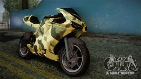 GTA 5 Bati Green para GTA San Andreas