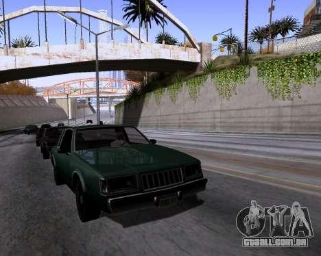 Graphic Update ENB Series para GTA San Andreas quinto tela