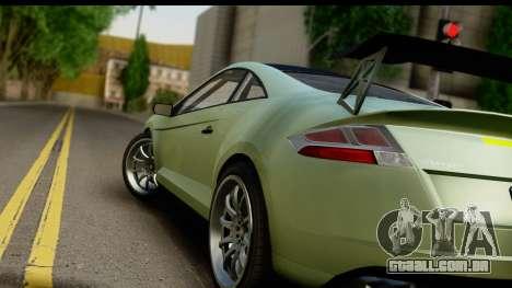 GTA 5 Maibatsu Penumbra SA Mobile para GTA San Andreas traseira esquerda vista