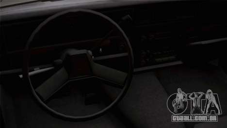 Chevy Caprice Hustler & Flow para GTA San Andreas vista direita