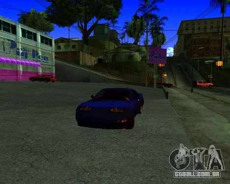 Warm California ENB para GTA San Andreas segunda tela