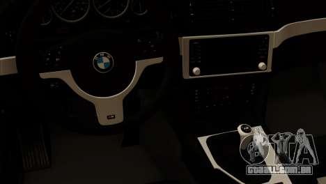 BMW 540 E39 Accuair para GTA San Andreas vista direita