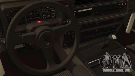Ford Sierra Sapphire 4x4 RS Cosworth para GTA San Andreas vista traseira