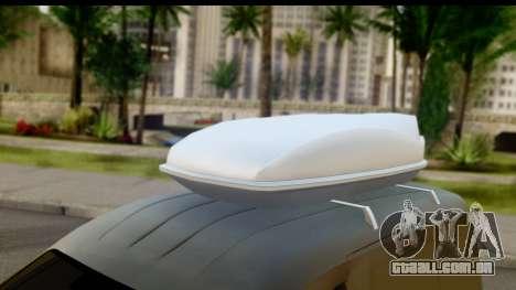 Volkswagen Caddy para GTA San Andreas vista direita
