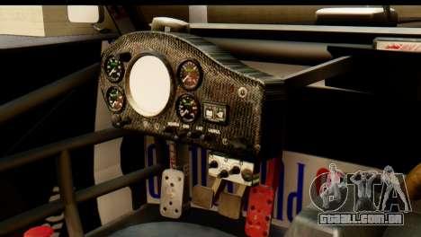 Chevrolet Series 2 Turismo Carretera Mouras para GTA San Andreas traseira esquerda vista