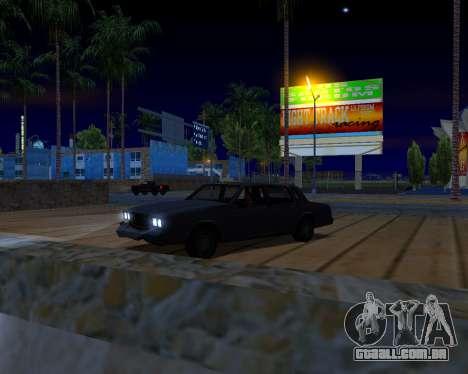 ENB v3.0.0 para PC fraco para GTA San Andreas sexta tela
