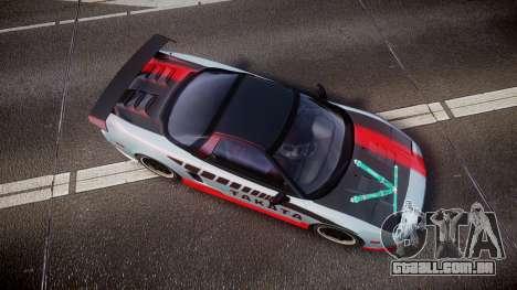 Honda NSX 1998 [EPM] takata para GTA 4 vista direita
