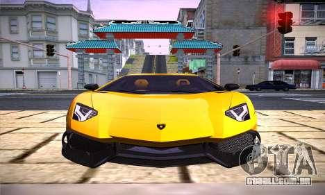 ENB Version v3.1 para GTA San Andreas segunda tela