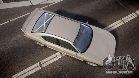 Bravado Buffalo Supercharged 2015 para GTA 4 vista direita
