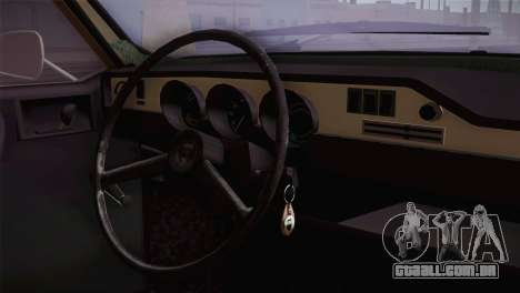 Dacia 1300 Biharia para GTA San Andreas vista direita