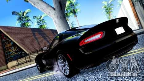 ENB Cal HD por meio do PC para GTA San Andreas sexta tela