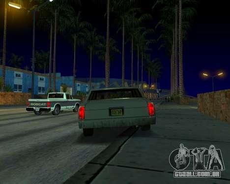 ENB v3.0.0 para PC fraco para GTA San Andreas quinto tela