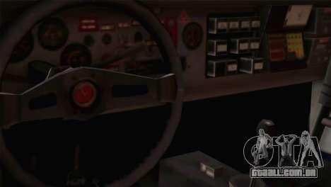 Fiat Abarth Sport Edition para GTA San Andreas vista traseira