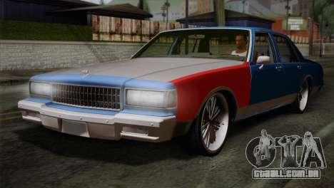 Chevy Caprice Hustler & Flow para GTA San Andreas