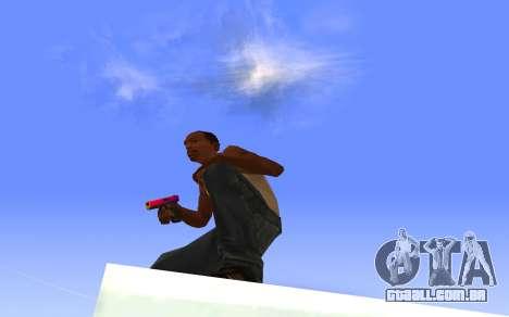 Glock-18 gradiente de CS:GO para GTA San Andreas terceira tela