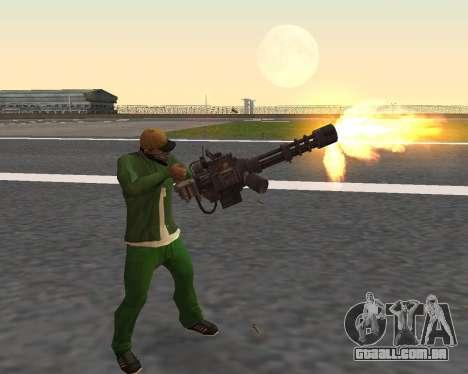 Lindas fotos de armas para GTA San Andreas sétima tela
