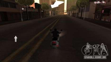 Navegador GPS com voz russo para GTA San Andreas