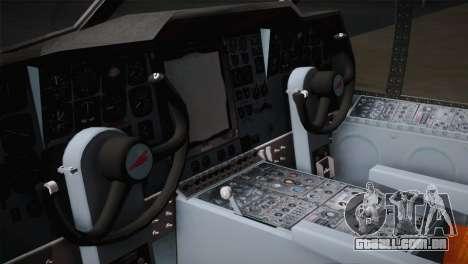 P2V-7 Lockheed Neptune JMSDF para GTA San Andreas vista traseira