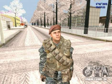 As forças especiais da URSS CoD Black Ops para GTA San Andreas
