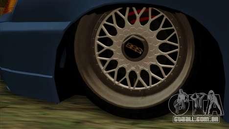 ВАЗ 2112 Feliz Queda de Amigos para GTA San Andreas traseira esquerda vista
