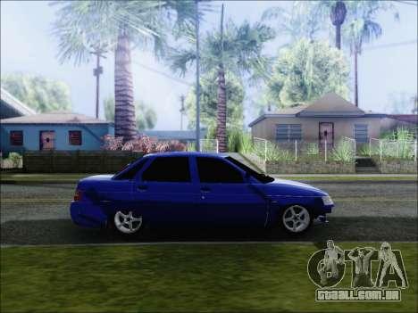 VAZ 2110 БПАN de Kemerovo para GTA San Andreas esquerda vista