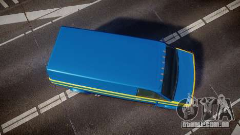 GTA V Declasse Burrito [Update] para GTA 4 vista direita