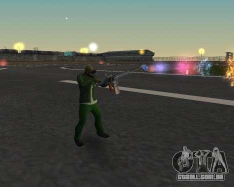 Lindas fotos de armas para GTA San Andreas quinto tela