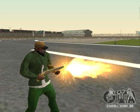 Lindas fotos de armas para GTA San Andreas nono tela