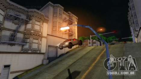 ENB Version 1.5.1 para GTA San Andreas sétima tela