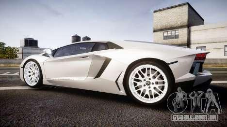 Lamborghini Aventador Hamann Limited 2014 [EPM] para GTA 4 esquerda vista