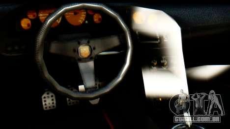 GTA 5 Pegassi Zentorno v2 IVF para GTA San Andreas vista traseira