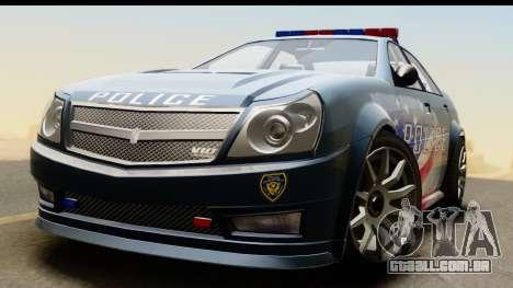 EFLC TBoGT Albany Police Stinger IVF para GTA San Andreas vista direita