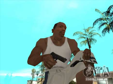 Russo submachine guns para GTA San Andreas nono tela