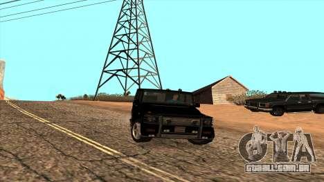 Mercedes-Benz G55 para GTA San Andreas esquerda vista