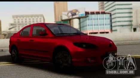 Mazda 3 2008 para GTA San Andreas